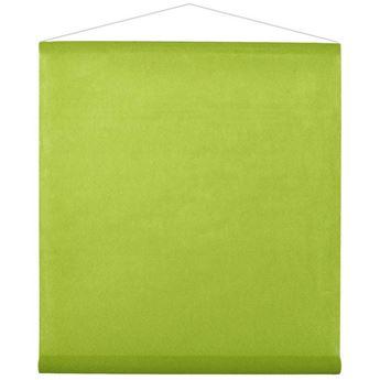 Picture of Decoración tela verde claro 12m