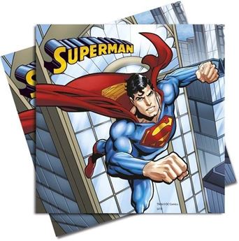 Picture of Servilletas Superman (20)