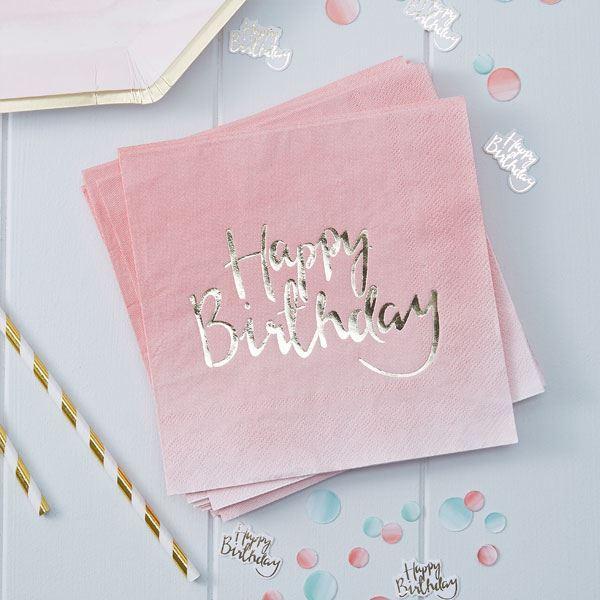 Imagen de Servilletas boho feliz cumpleaños (20)