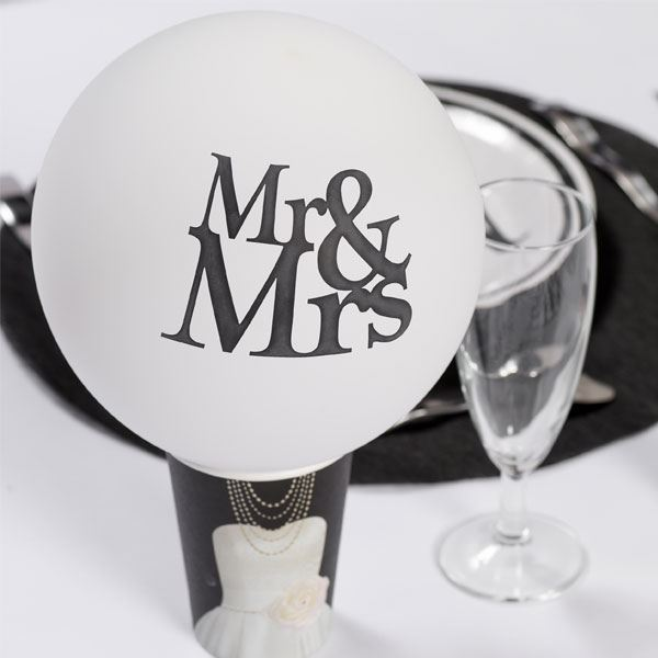 Picture of Globos Mr and Mrs (8)