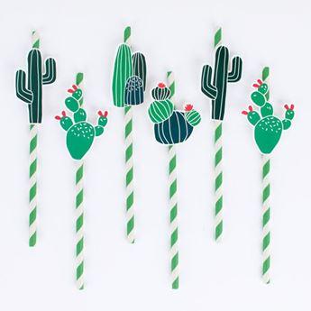Imagen de Pajitas cactus (12)
