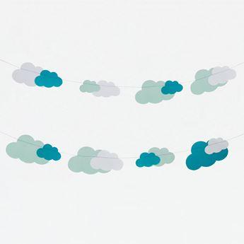 Imagen de Guirnalda nubes 3m