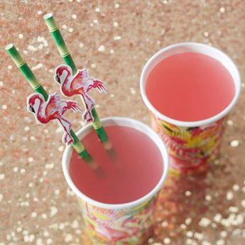 Imagens de Pajitas bambú flamenco rosa (20)