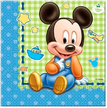 Picture of Servilletas Mickey Mouse bebé (20)