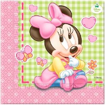 Imagen de Servilletas Baby Minnie (20)