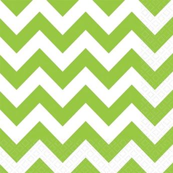 Picture of Servilletas chevron verde claro (16)