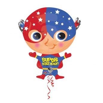 Imagens de Globo cumpleaños superhéroe