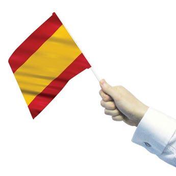 Imagen de Banderas de España con palo (12)