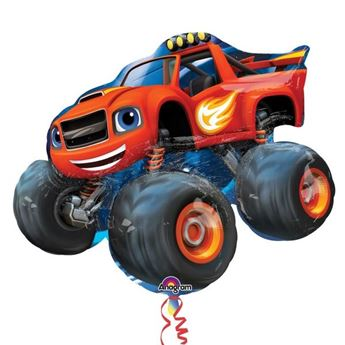 Picture of Globo Blaze y los Monster Machines forma
