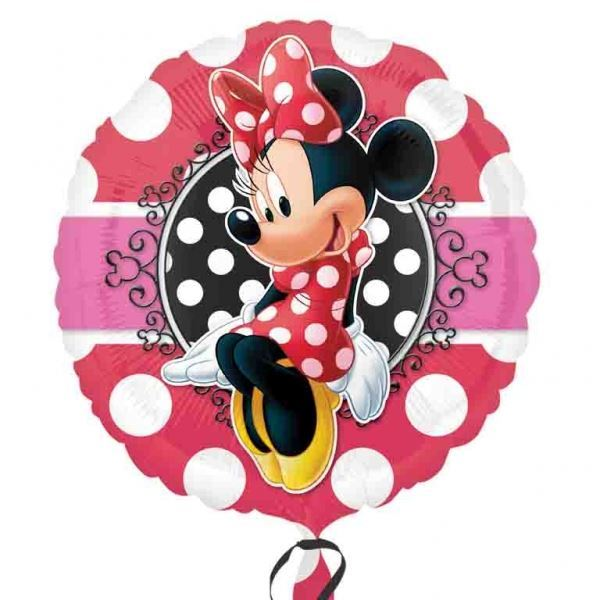 Picture of Globo Minnie Mouse círculo