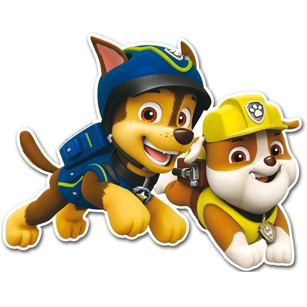 Compra troquelados patrulla canina chase y amigos 2 y - Imagenes de la patrulla canina ...