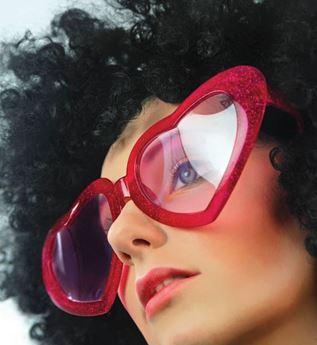 Imagens de Gafas corazón gigante