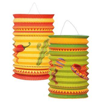 Imagen de Farolillos fiesta mexicana (2)