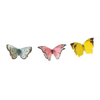 Imagens de Banderín mariposas 3mts