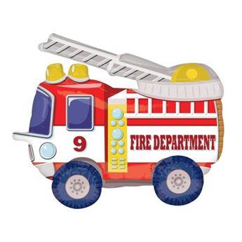 Imagens de Globo andante camión de bomberos