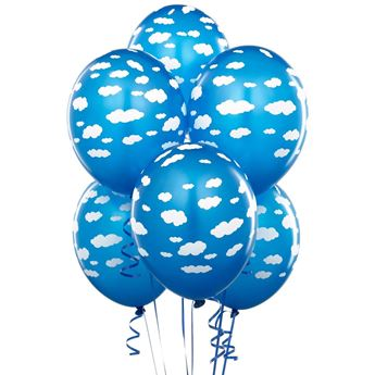 Picture of Globos nubes azul (6)