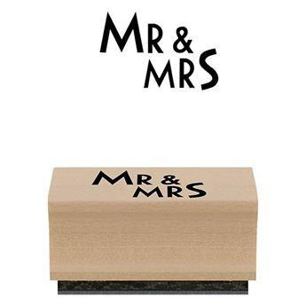 Imagens de Sello Mr & Mrs
