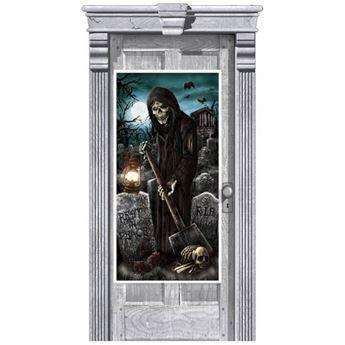 Picture of Decorado puerta Cementerio siniestro