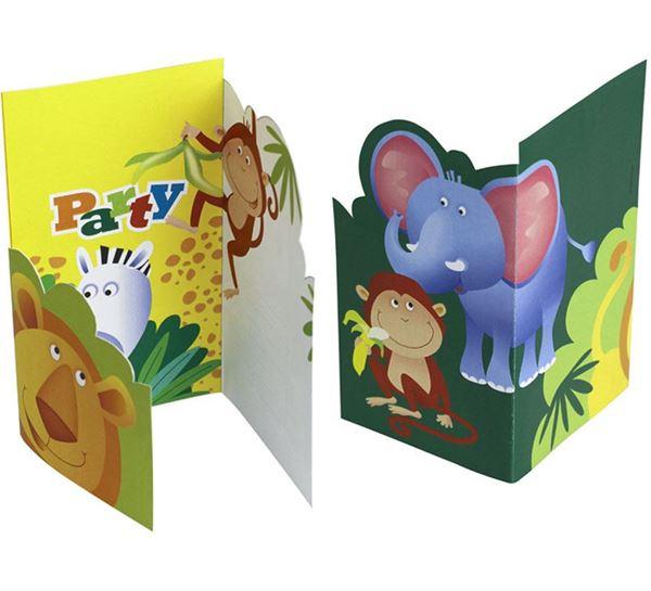 Picture of Invitaciones animales selva (6)