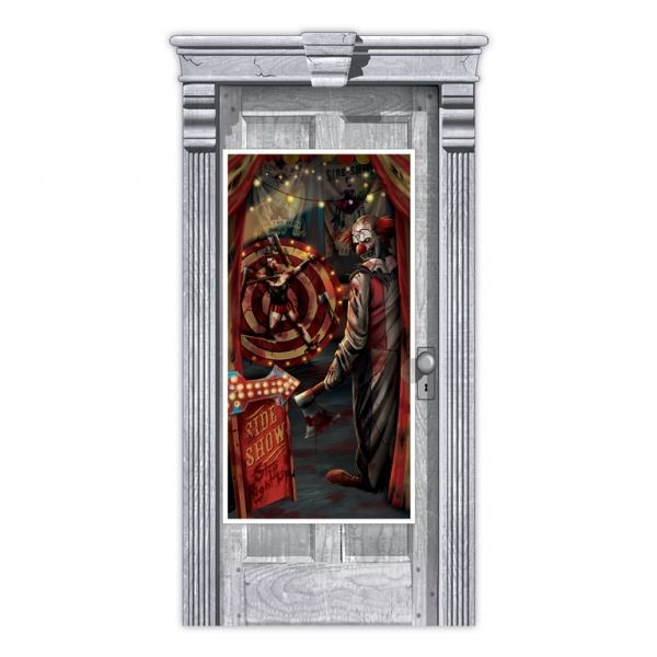 Picture of Decorado puerta circo siniestro