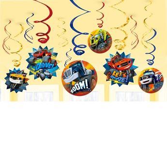 Imagen de Decorados espirales Blaze y los Monster Machines (6)