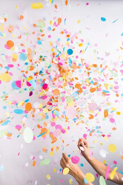 Imagen de Confeti maxi papel (100gr)