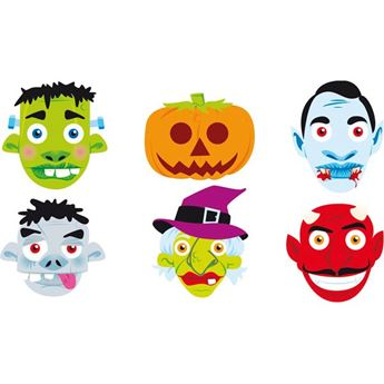 Picture of Caretas Halloween infantil (6)