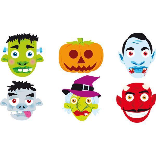 Imagen de Caretas Halloween infantil (6)