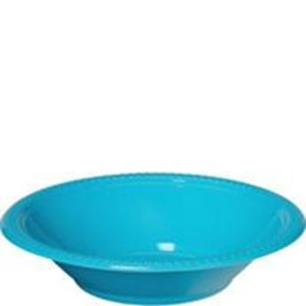 Imagen de Boles azul caribeño plástico (10)