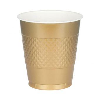 Imagens de Vasos dorados plástico (10)