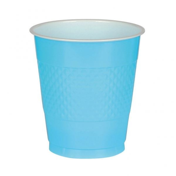 Picture of Vasos azul caribeño plástico (10)