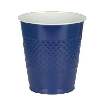 Imagens de Vasos azul oscuro plástico (10)