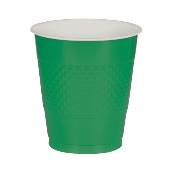 Picture of Vasos verdes plástico (10)