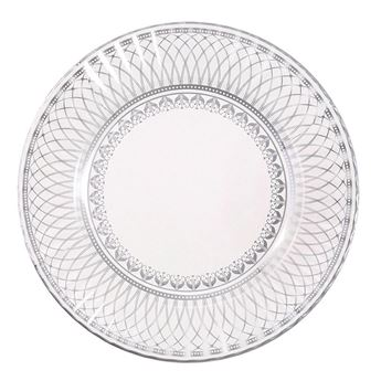 Picture of Platos elegante plata grandes (8)* Ultimos