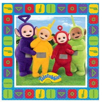 Picture of Servilletas teletubbies (16)