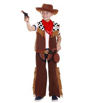 Imagens de Disfraz de vaquero con accesorios de 3 a 6 años