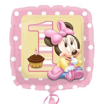 Imagen de Globo Baby Minnie primer cumpleaños