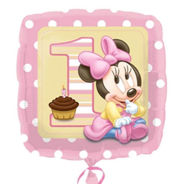 Imagens de Globo Baby Minnie primer cumpleaños