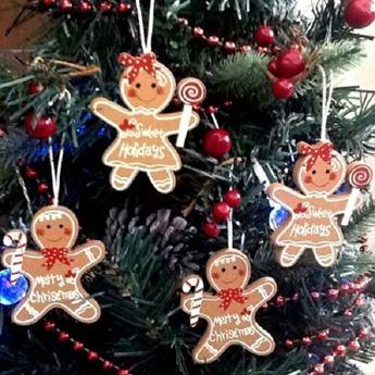 Imagen de Adorno árbol navidad  galletas de jengibre (4)