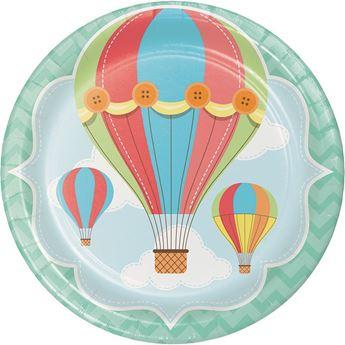 Imagen de Platos globo aerostático (8)