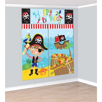 Imagen de Decorados pared pirata divertido (5)