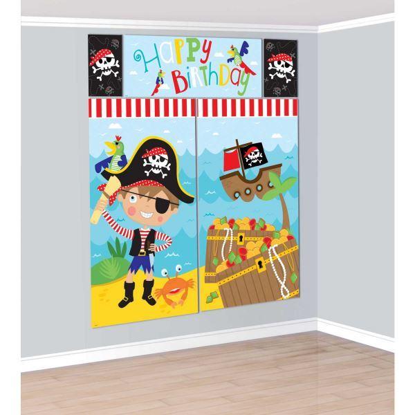 Imagen de Decorados pared pirata divertido (5)