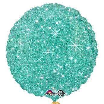 Picture of Globo círculo brillante verde