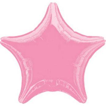 Imagen de Globo estrella rosa chicle
