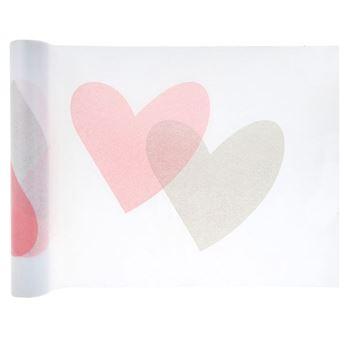 Imagens de Camino de mesa corazones 5m