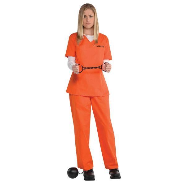Picture of Disfraz presa Orange Talla M/L