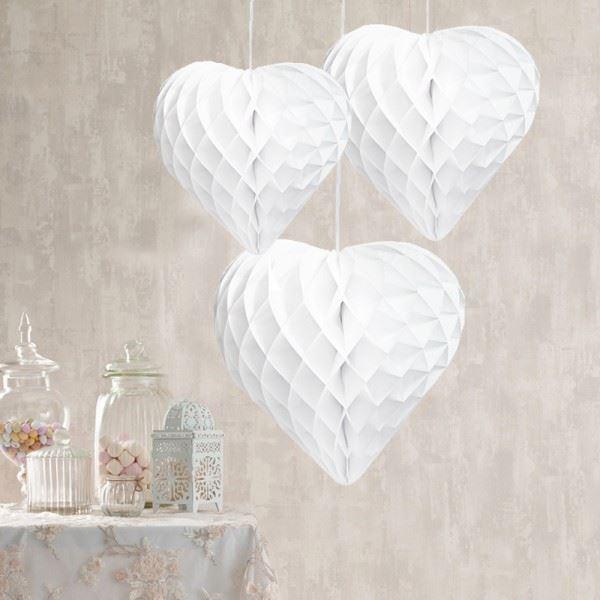 Imagens de Decorados nido abeja corazones (3)