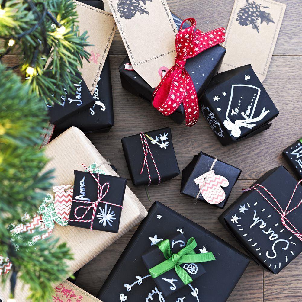 Comprar papel regalo pizarra original 2 online al mejor - Papel de regalo original ...