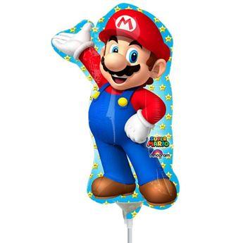 Picture of Globo Mario Bros palito