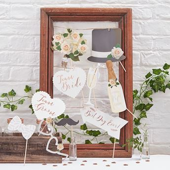 Imagen de Accesorios photocall palito romántico boda (10)